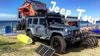 Download A TOUR THROUGH OUR JEEP WRANGLER OVERLAND VEHICLE // PART 1 Video
