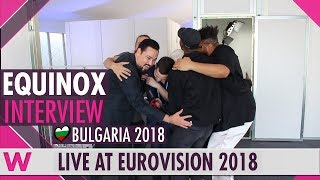 Download Equinox Bulgaria interview after Eurovision 2018 Semi-Final 1 Video