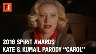 Download CAROL parody - Kate McKinnon & Kumail Nanjiani | 2016 Film Independent Spirit Awards Video