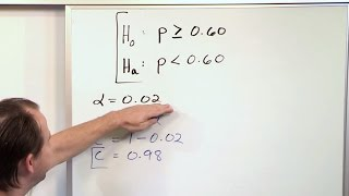 Download Null and Alternate Hypothesis - Statistical Hypothesis Testing - Statistics Course Video