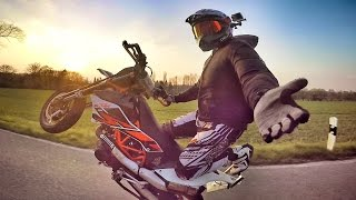 Download First Spring Feelings | Supermoto 2016 | David Bost Video