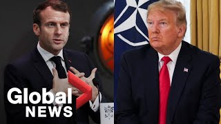 Download Trump slams French President Macron for ″very nasty″ comments on NATO Video