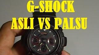 Download G Shock Asli vs Palsu Cara Membedakannya Video