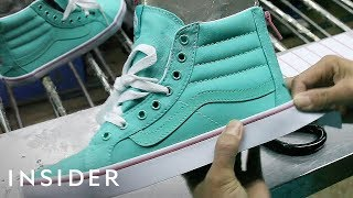 Download How Vans Makes Its Iconic Sneakers Video