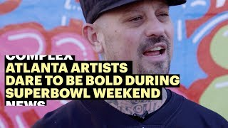 Download TikTok and Local Atlanta Artists Dare To Be Bold During Super Bowl Weekend Video