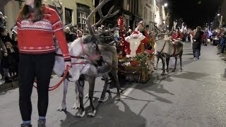 Download Perth's Christmas Parade 2017 with Reindeer pulling Santa's sleigh, Camels and celebrity guests Video