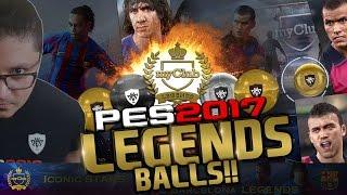 Download myClub PES 2017 LEGENDS Ball opening 100k GP + FC Barcelona Legends review #7 Video