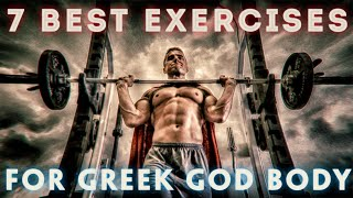 Download 7 BEST Muscle Building Exercises for a Greek God Body Video