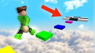 Download MILE HIGH RAINBOW OBSTACLE COURSE! (Roblox) Video