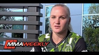 Download Valentina Shevchenko Believes Blown Weight Cut Forced Amanda Nunes' Withdrawal at UFC 213 Video