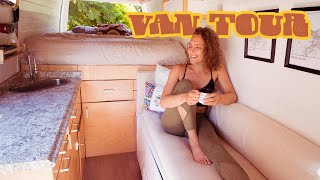 Download VAN TOUR | Beautiful DIY Camper Van Conversion // minimal millennials Video