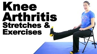 Download Knee Arthritis Stretches & Exercises - Ask Doctor Jo Video