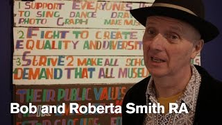 Download Bob and Roberta Smith RA: Art is your Human Right Video