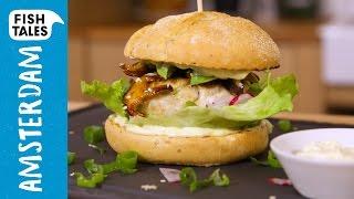 Download Bart's Japanese TUNA Burger Recipe | Bart van Olphen Video