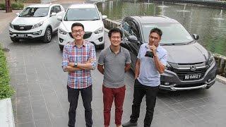 Download DRIVEN 2015 #2: Honda HR-V vs Mazda CX-5 vs Kia Sportage Video