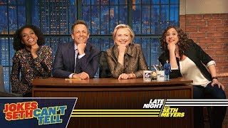Download Jokes Seth Can't Tell with Hillary Rodham Clinton Video