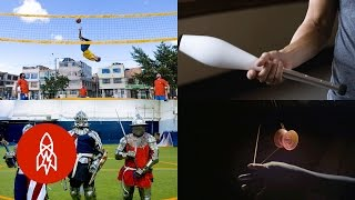 Download These Five Obscure Sports Stories Bring Their A-Game Video