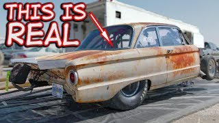 Download Rusty Ford Falcon With a WHOLE Lot of POWER! Video