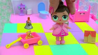 Download LOL Surprise Baby Doll + Grossery Gang Series 3 Surprise Blind Bags Video Video