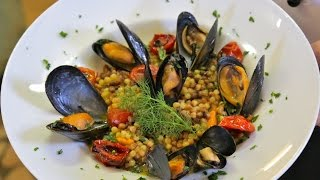 Download How to Make Risotto-style Fregola Pasta with Mussels | Pasta Grannies Video