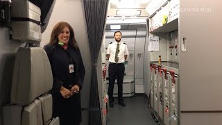 Download TAP PORTUGAL A330-200 NEW BUSINESS CLASS (with cockpit landing) Video