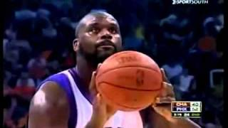 Download Shaquille O'Neal ! funny free throws Video