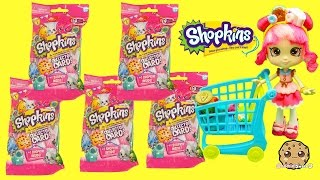 Download 5 Shopkins Season 3 Collector Card Packs with Surprise Blind Bag with Donatina - Cookieswirlc Video