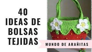 Download 40 Ideas de BOLSAS TEJIDAS ... y un plus 👜👛👝 Video