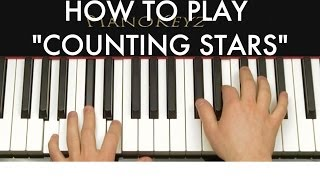 Download How to Play Counting Stars by OneRepublic on Piano Video