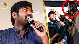Download Vijay Sethupathi Trolls VJ Priyanka On Stage | Junga Audio Launch | Yogi Babu Video