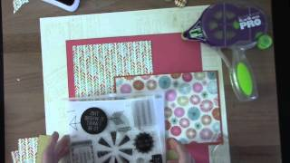 Download This is What I Want 12x12 Scrapbook Layout Inspiration Tutorial Video