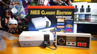 Download Nintendo NES Classic Edition Limited Edition Micro Console Unboxing Video