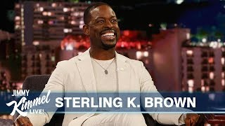 Download Sterling K. Brown on His Kids, Al Pacino and New Movies Waves & Frozen 2 Video