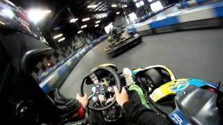 Download Super Fast Indoor Go Kart Racing GoPro HD Video