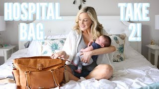 Download WHAT I ACTUALLY USED IN MY HOSPITAL BAG + WHAT THEY GAVE ME!   LABOR & DELIVERY Video