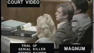 Download The trial of Jeffrey Dahmer Actual court room 92 VHS Video