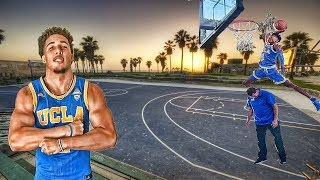 Download LIANGELO BALL X JAYLEN HANDS Show out at UCLA Under Armour open practice at Venice Beach Video