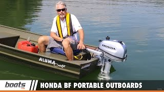Download Honda BF Portable Outboards: First Look Video Video