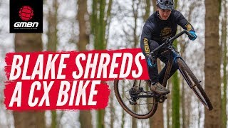 Download How Hard Can You Ride A Cyclo-cross Bike?   Blake Shreds A Bike Park On A CX Bike Video