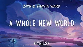 Download ZAYN, Zhavia Ward - A Whole New World (Lyrics) Video