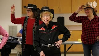 Download Meet Dottie the 98-year-old line dancer from Beaverton Video