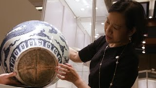 Download The Priceless Ming Jar Used as an Umbrella Stand Video