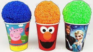 Download Play Foam Ice Cream Surprise Eggs Peppa Pig Elmo Disney Finding Dory Play Doh Learn Colors & Numbers Video