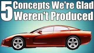 Download 5 Concept Cars We're Glad Weren't Produced! Video