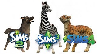 Download ♦ Sims 2 vs Sims 3 vs Sims 4 : Create A Pet Video