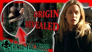 Download 32 Things You Missed In A Quiet Place (2018) + Creature Origin Revealed Video