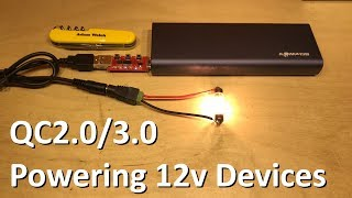 Download Using Quick Charge 3.0 to Power 12 Volt Devices - 12v Solar Shed Video