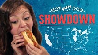 Download Hot Dog Showdown: LA Vs. Chicago Vs. NYC Video