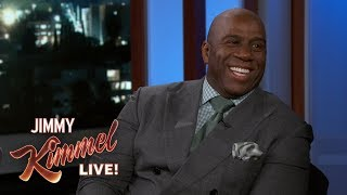 Download Jimmy Kimmel Really Wants to Vacation with Magic Johnson & Samuel L. Jackson Video