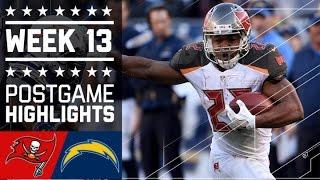 Download Buccaneers vs. Chargers (Week 13) | Game HIghlights | NFL Video